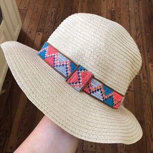 Free People Tribal Straw Hat